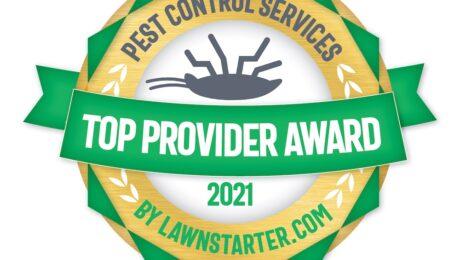 top pest control provider award